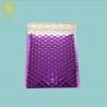 China Custom Made Aluminum Foil Mailing Shipping Padded Envelope / Shock Proof Metallized Gold Bubble Envelope wholesale