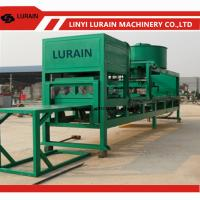 China Roof Tile Pressing Machine with Plastic Mould for sale,Concrete roof tile making machine price with plastic mould on sale