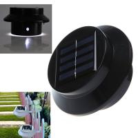 China Solar fence Roof Gutter Garden Wall Lamp Path Lighting wholesale