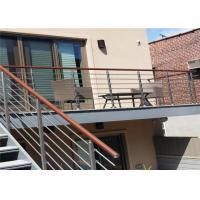 China CE Stainless Steel Balustrade Systems Porch Stair Railing End Cap House Railing wholesale