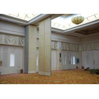 China Veneer Gypsum Acoustic Folding Partitions , Accordion Folding Partitions For Restaurant wholesale