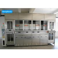 Automatical Ultrasonic Parts Cleaner With Six Tanks For Automotive Parts