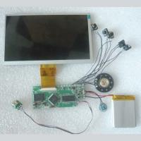 Quality HD 7 inch TFT LCD color screen video module for greeting card for sale