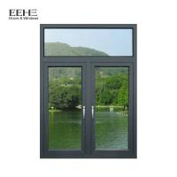 China Two Clear Anodised Aluminium Windows , Swing Thermal Break Aluminum Windows wholesale