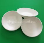 China Biodegradable Disposable Sugarcane Pulp Paper Bowl, Food Grade, 460ml wholesale