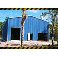 Buy cheap China Prefab Light Steel Structure Frame Workshop Building Kit Construction from wholesalers