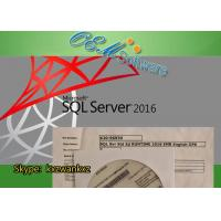 China MS SQL Windows Server 2016 Standard Key License X20-96930 Embedded Std OPK Package wholesale