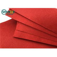 China PES Needle Punch Felt Fabric Needle Punch Nonwoven For Decoration / Carpet wholesale
