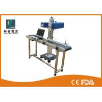 China Light Weight Small Laser Engraving Machine , CO2 Flying Laser Marking Machine wholesale