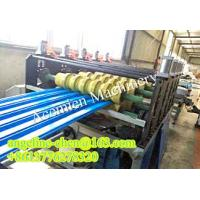 China plastic PVC hollow wave roofing sheet/roof tile extrusion production line plant wholesale