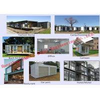 China Modern Environmental Prefab Container House Multi - Functional Mobile House Easy Assembling wholesale