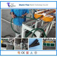 China Small Diameter Plastic Corrugated Pipe Extrusion Line Single Wall Corrugated Tube Manufacture Machinery on sale