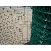 China Economic Green PVC Coated Wire Mesh Rolls , Welded Wire Fence For Fencing wholesale