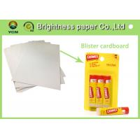 Quality Colorful Printed Cardboard Sheets , Sbs Paper Board For Stationery Packing for sale