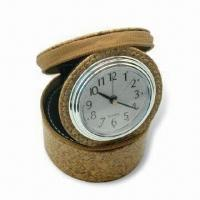 China Alarm Clock Box, Delicate Design, Made of PU, Available in Various Colors wholesale