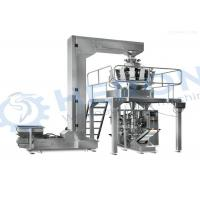China Automatic potato chip packing machine / Multi head weighing packing machine wholesale