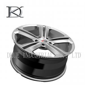 China Forged VW Replica Wheels Rims 18 Inch Hyper Black Machine DOT VIA Certifications wholesale