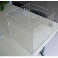 China Home Custom Acrylic Products / Large Clear Plastic Storage Boxes for Food on sale