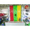 China Customized Inflatable Climbing Wall / Inflatable Rock Climbing Wall For Children / Adults wholesale