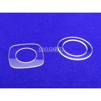 China Custom Made Optical Flat Watch Glass With Artificial Sapphire 85% - 95% Transmissivity wholesale