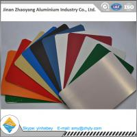 China Building Aluminium Alloy Sheet RAL Color Coated Aluminium Sheet 1000mm Width wholesale