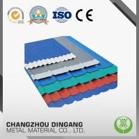 China Color Coated Aluminum Plate In Coil For Roofing Building Material wholesale