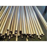 China Black Round Cold Rolled Steel Pipe Pre Welded For Furniture / Decoration wholesale