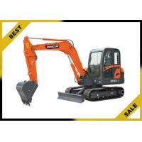 China 5760mm Long Reach Excavator 4 Cylinder , 38kw Compact Mini Excavator No Need Crane To Dismantle wholesale