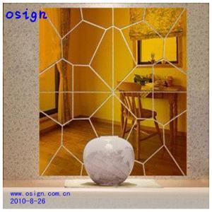 China gold sliver acrylic mirror sheet wholesale