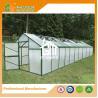China Aluminum Greenhouse-Titan series-1006X306X243CM-Green/Black Color-10mm thick PC wholesale