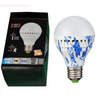 China Microwave radar sensor led bulb intelligent lamps ceiling bulbs PIR voice motion sensor on sale