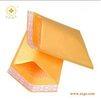 Quality Gold Yellow Kraft Paper Mailing Envelope/ Shock Proof Bubble Padded Kraft Mailing Bag for sale
