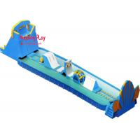 China Commercial Toddle Inflatable Water Slide With Splash Pool 1000*400*800cm wholesale