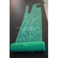 Green Color Plastic Aprons On A Roll Disposable Colored Food PE Aprons