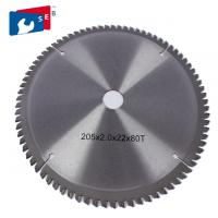 China Mental Alloy TCT Saw Blade ATB Teeth Wear Resistant For Cutting Steel Aluminum wholesale