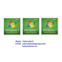 China Microsoft Windows Product Key For Windows 7 Home Premium FPP/OEM License wholesale