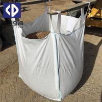 Quality PP Woven Jumbo FIBC Bulk Bags 1000kg Container For Sand / Cement Moisture Proof for sale