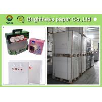 China C1S  ivory card Printing Paper , FBB White Back cardboard paper sheet/roll wholesale