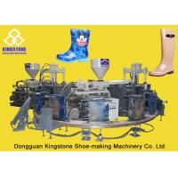 China Rain / Water Boot / Gumboot Dual Injection Molding Machine Rotary Type wholesale