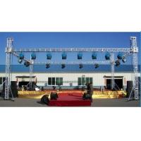 China Ceremonies Ladder Mini Aluminum Stage Truss Non - Toxic For Small Project Events wholesale