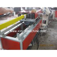 China HDPE Plastic Corrugated Pipe Extrusion Line, Flat Pipe Making Machine on sale
