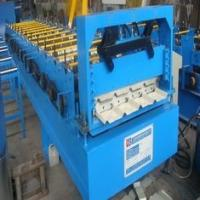 China 840 Roof Tile Roll Forming Machine Cr12mov 0.3-0.9mm Rolling Galvanization Thickness wholesale