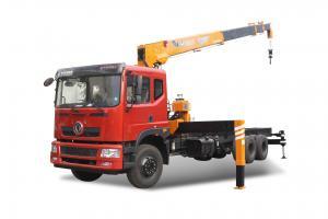 China 12T Telescopic Boom Truck Mounted Hydraulic Crane SQ12S4 wholesale