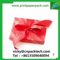 China Exquisite Gift Pen Boxes Sweet Wedding Favor Boxes Gift Watch Box with Ribbon wholesale