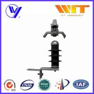 China C Type Gap Metal Oxide Lightning Arrester 10KV for Transmission Line wholesale