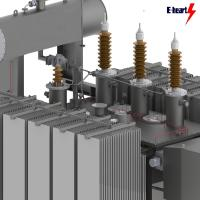 Buy cheap Two Winding Oil Immersed Transformer Three Phase Customized 50hz 200mva from wholesalers