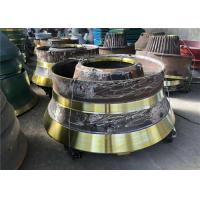 China Wear Resistant Cone Crusher Parts Mn21cr2 Concave And Mantle Customized Design wholesale