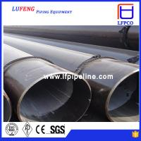 China API 5L schedule 40 steel pipe ASTM A53 GR.B 6 INCH steel LSAW pipe, oil pipe line wholesale