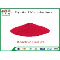 China ISO9001 Clothes Color Dye Natural Clothing Dye C I Red 24 Reactive Red P-2B wholesale