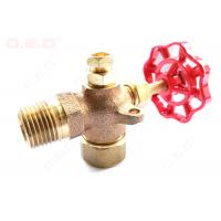 China Reliable Oil Field Accessories 1/4-4  Female Thread Brass Forged Gate Valve wholesale